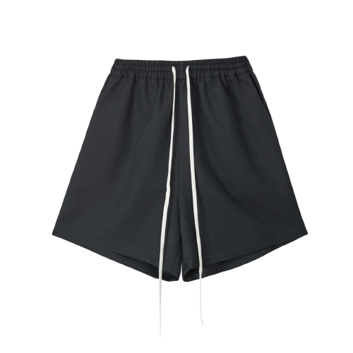 [SLEAZY CORNER] HALF PANTS-CHARCOAL