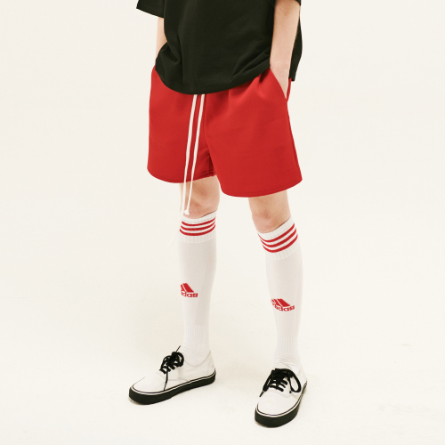 [20%할인][SLEAZY CORNER] HALF PANTS-RED