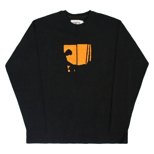 [EASY BUSY] Sex Longsleeve T-Shirts - Black