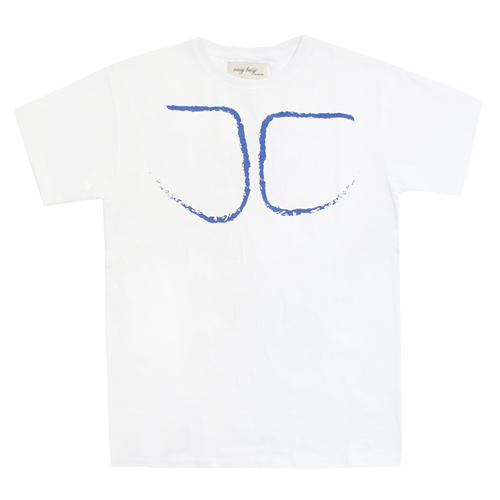 [EASY BUSY] Body T-Shirts - White