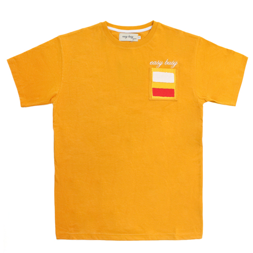 [EASY BUSY] Rothko T-Shirts - Yellow