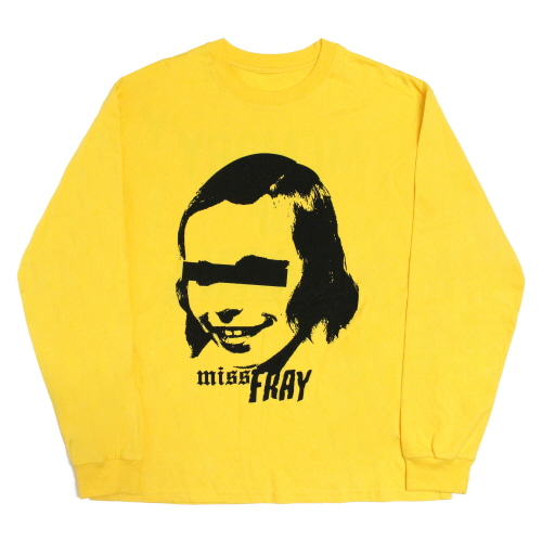 [Fresh anti youth] M.O.Y-Long Sleeve - Yellow