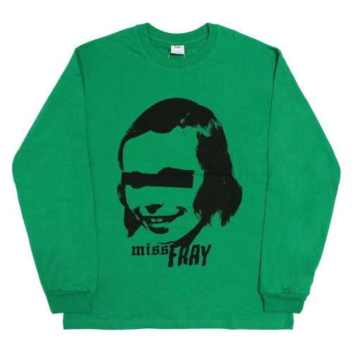[Fresh anti youth] M.O.Y-Long Sleeve - Green