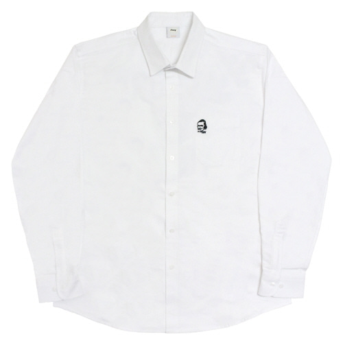 [Fresh anti youth] M.O.Y Oxford-Shirts - White