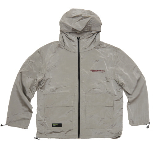 [Fresh anti youth] WIND BREAKER JACKET - GREY