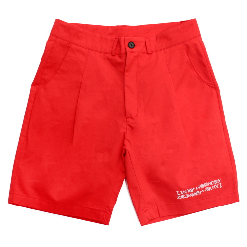 [17SS] Basic Logo Shorts - Red