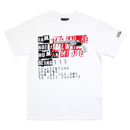 [17SS] The Failure is Always on My Side T-Shirts - White