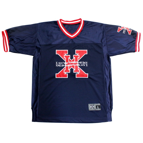[17SS] XHB Foot Ball Jersey - Navy