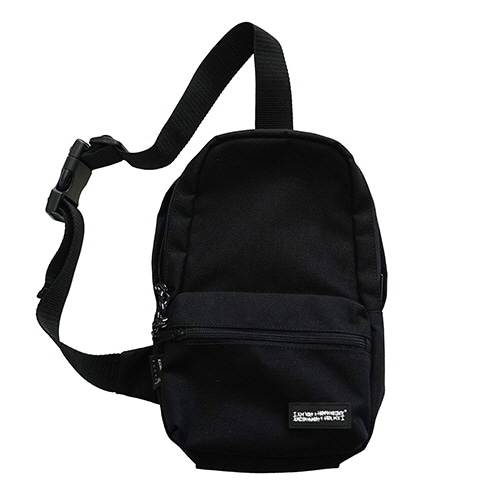 [18FW] SMALL LOGO SLING BAG - BLACK