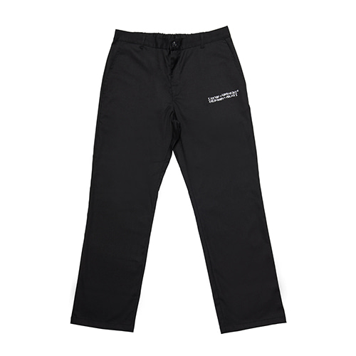 [18FW] AUTOGRAPH WIDE PANTS - BLACK