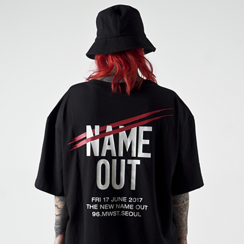 [Nameout] Name Out Staff Tee - Black