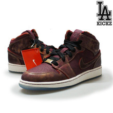 [NEW][225]Air Jordan 1 MID BHM(GS)