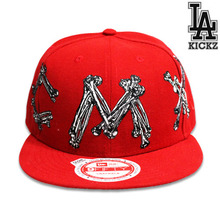 MCMXX Snapback Hat -Red