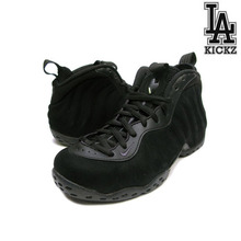 [NEW][270]Nike Air Foamposite One Premium Black/Black Suede [575420-006]