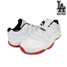 [NEW][270]Air Jordan 11 Retro Low 흰빨 [528895-101]