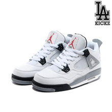 [NEW][250] Air Jordan 4 Retro GS 시멘트 [408452-103]