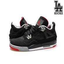 [USED][235] Air Jordan 4 Retro GS 브레드 [408452-089]