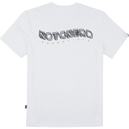 [NOT4NERD] 3Wave Logo T-Shirts - White